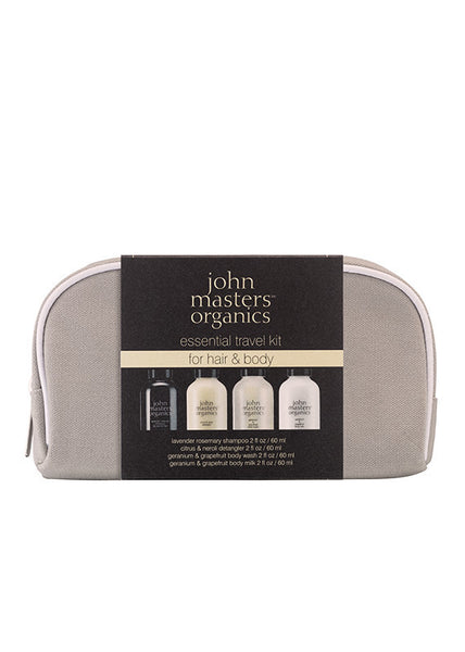 John Masters Organics Essential Travel Kit for Body and Hair