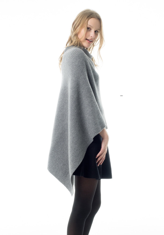Erdaine Marquita Textured Carded Poncho