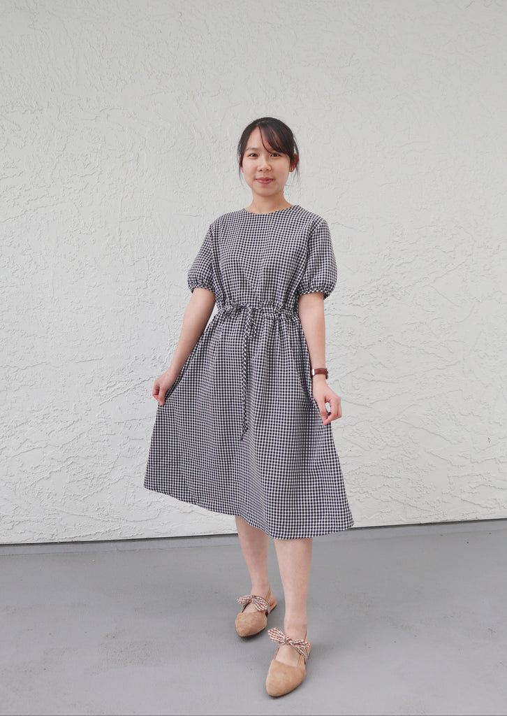Bonsui Check Dress