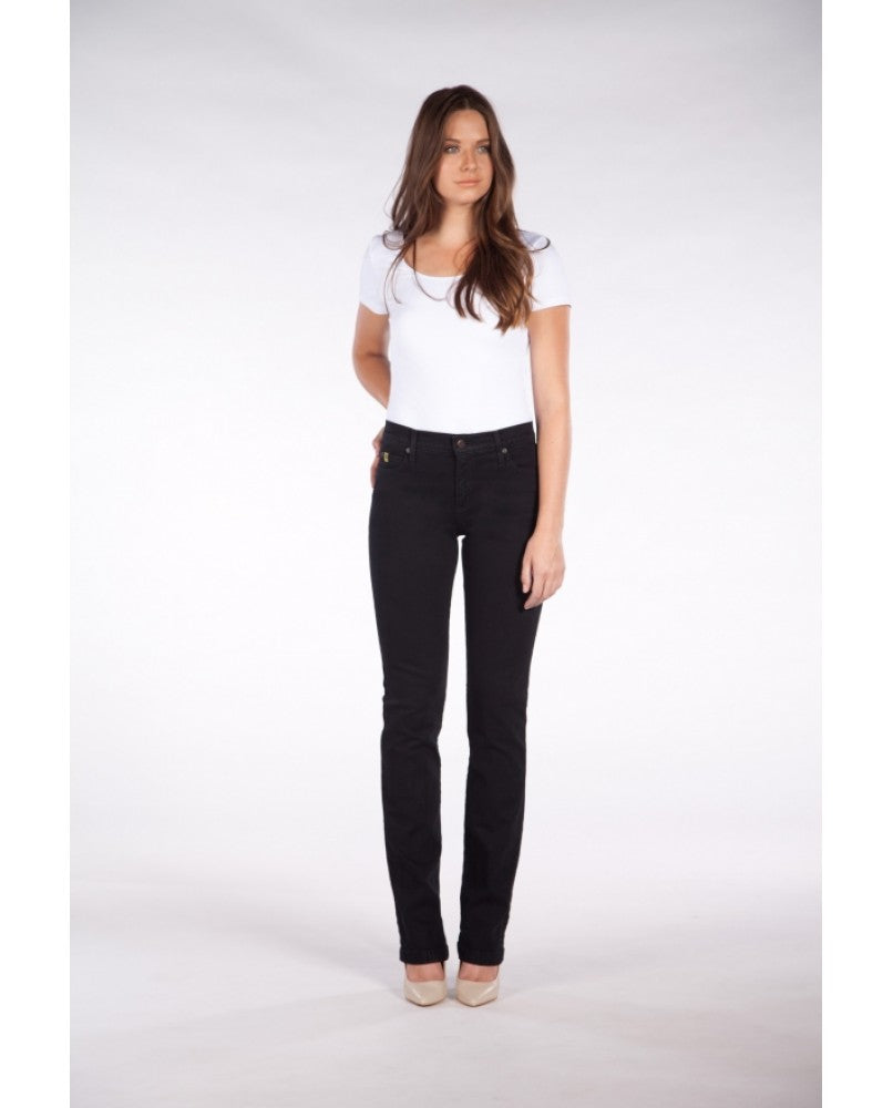 "Yoga Jeans CHLOE 34"" Inseam - Black"