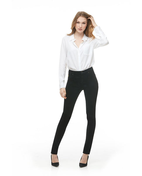 "Yoga Jeans RACHEL 34"" Inseam - Black"