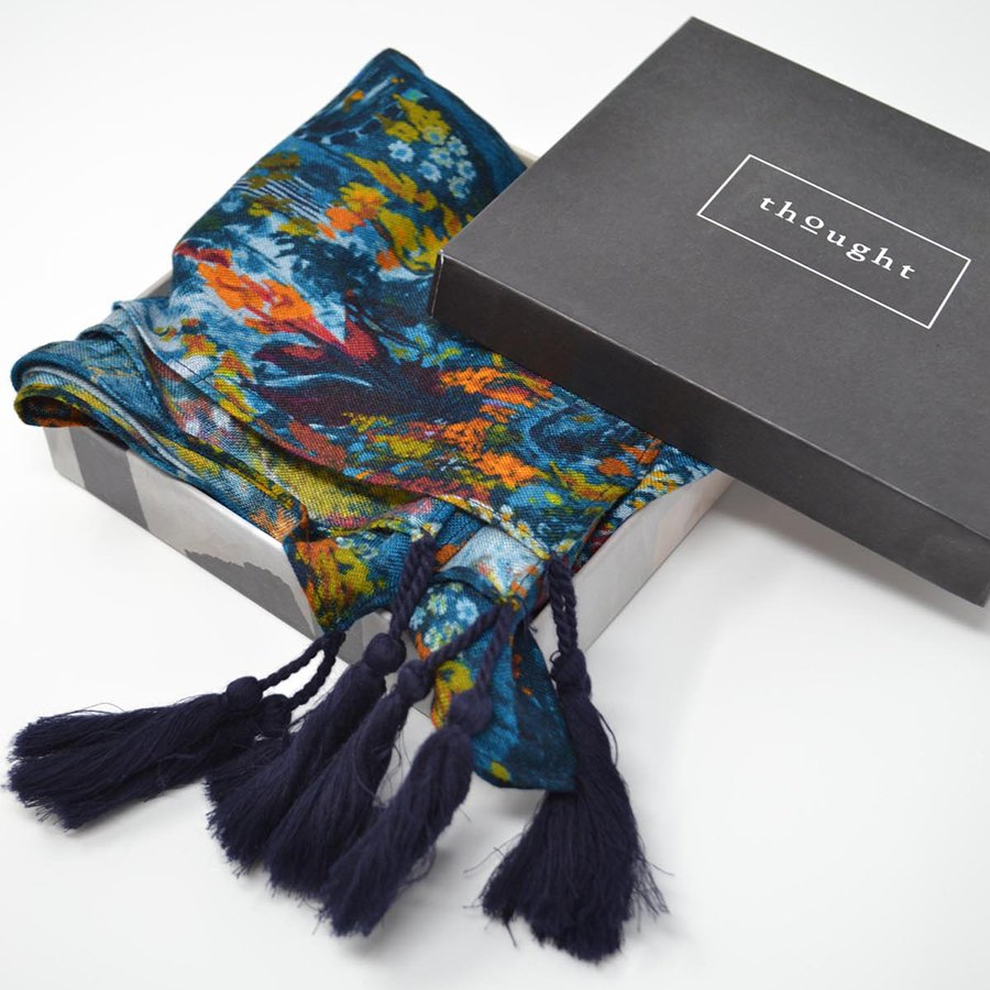 Thought Sissinghurst Scarf in a box
