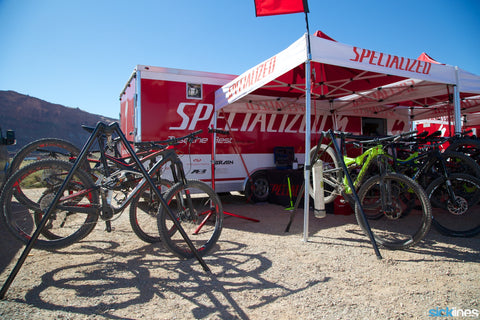 Specialized Demo at Thunder Mountain Bike Park