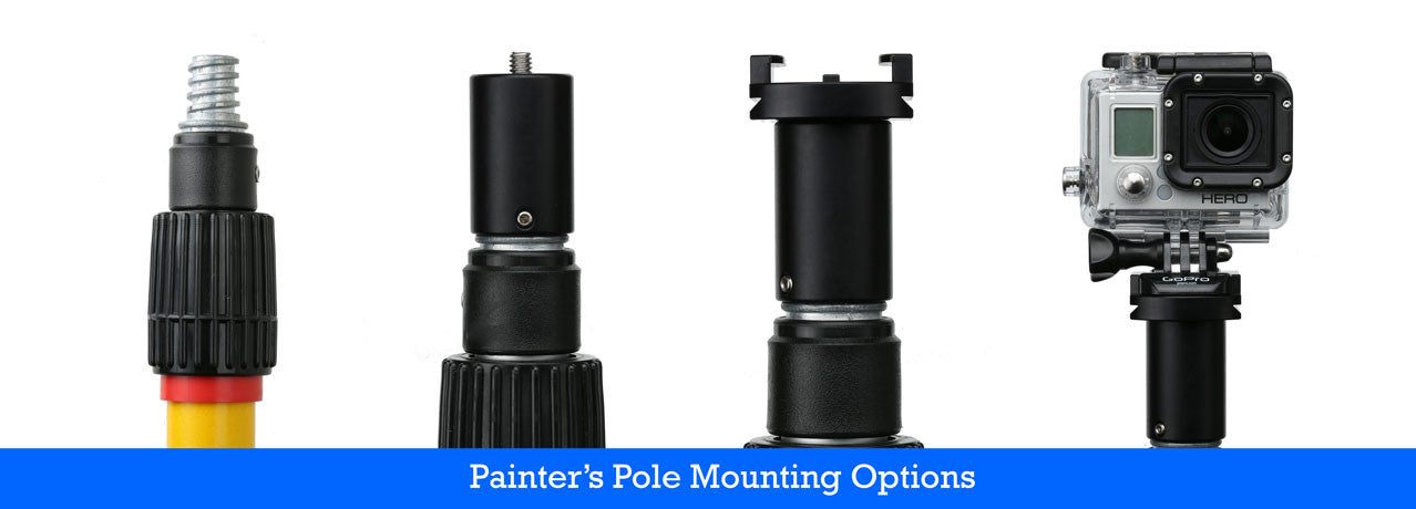 Painter's Pole Selfie stick for GoPro Mount