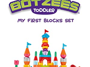 Excellent for Toddlers - Botzees Toddler - My First Blocks