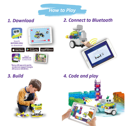 How to play Botzees Robotic toys