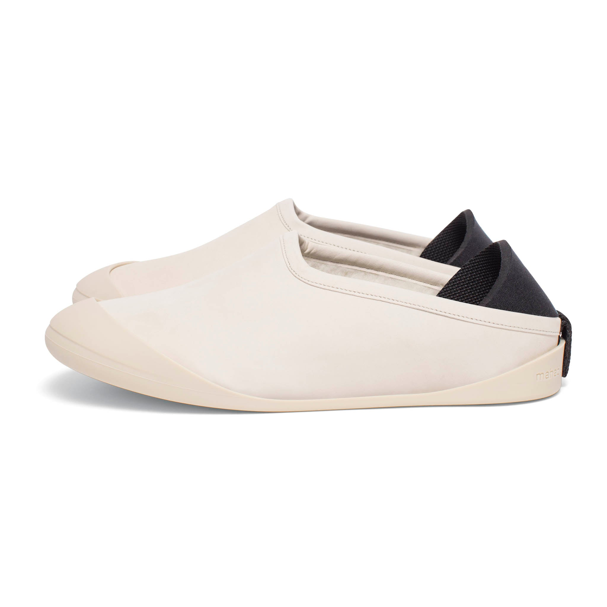mahabis Stone Summer Slippers + Ivory Detachable Soles Fu22YO2u