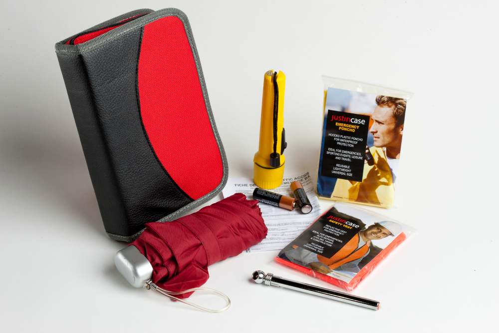 Glove Compartment Kit by Justin Case