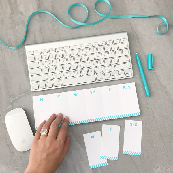 Keyboard Planner with Perforated Days