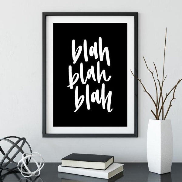 Blah Blah Blah // Digital Download