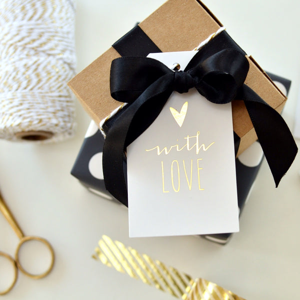 With Love // Gift Tags