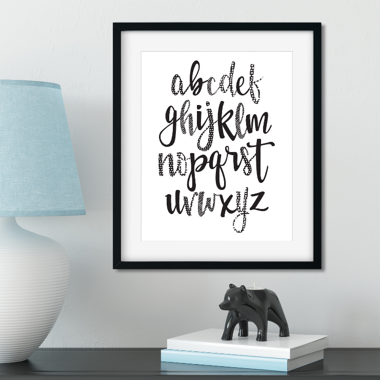 Alphabet // Digital Download