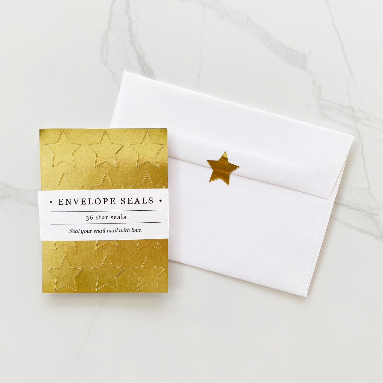 Star Envelope Seals