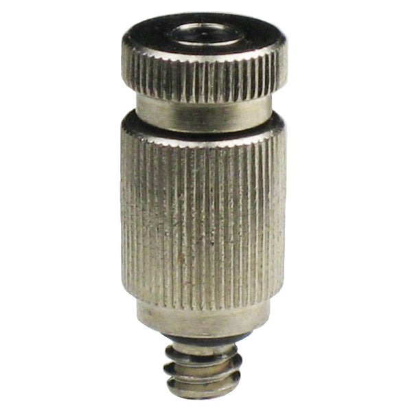 Nickel Plated Anti Drip Misting Nozzle