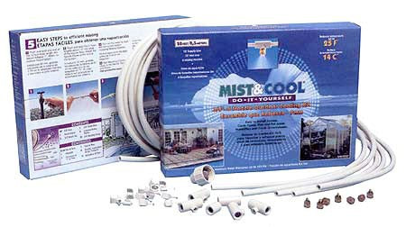 "3/8"" D-I-Y MIST COOLING SYSTEM (6 MISTING NOZZLE)"