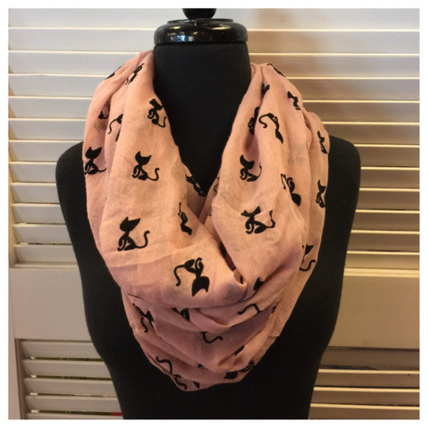 Kitty Cat Infinity Scarf