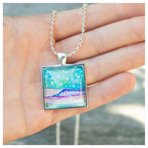 Art Necklace by Carolina Coto