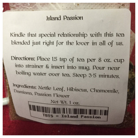 "Tea by the Sea ""island Passion"""