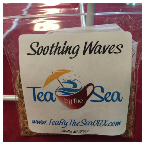 "Tea by the sea ""soothing waves"""