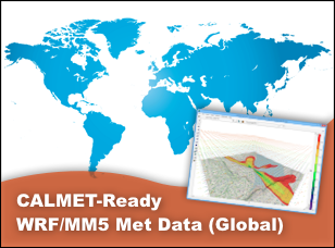 CALMET-Ready WRF/MM5 Data (Global)