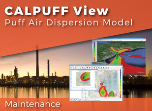 CALPUFF View Maintenance - 50% Discount
