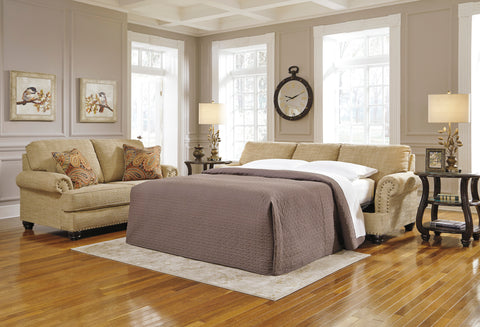 Candoro Queen Sofa Bed - Oatmeal