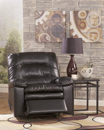 Knox DuraBlend Rocker Recliner - Coffee