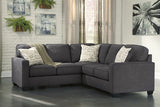 Alenya Small Sectional - Charcoal