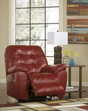 Alliston DuraBlend Rocker Recliner - Salsa