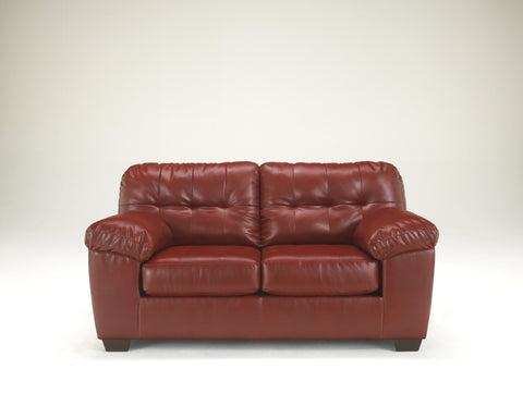 Alliston DuraBlend Loveseat - Salsa