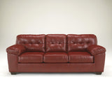 Alliston DuraBlend Sofa - Salsa
