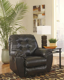 Alliston DuraBlend Rocker Recliner - Chocolate