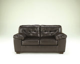 Alliston DuraBlend Loveseat - Chocolate