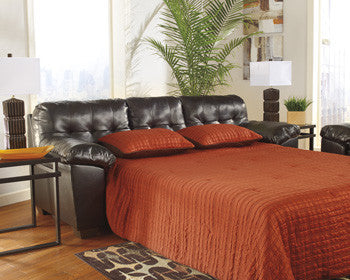 Alliston DuraBlend Queen Sofa Bed - Chocolate