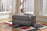 Alliston DuraBlend Oversized Accent Ottoman -  Gray
