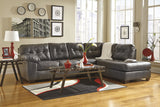 Alliston DuraBlend Chaise Sectional - Gray