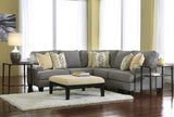 Chamberly Small Sectional - Alloy
