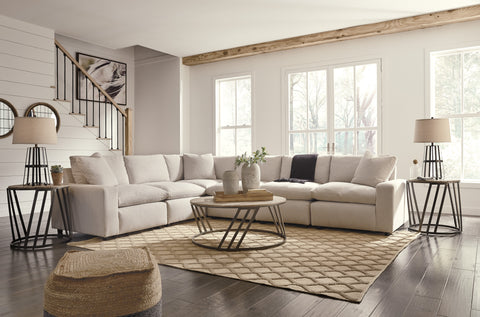 Savesto Large Sectional - Ivory
