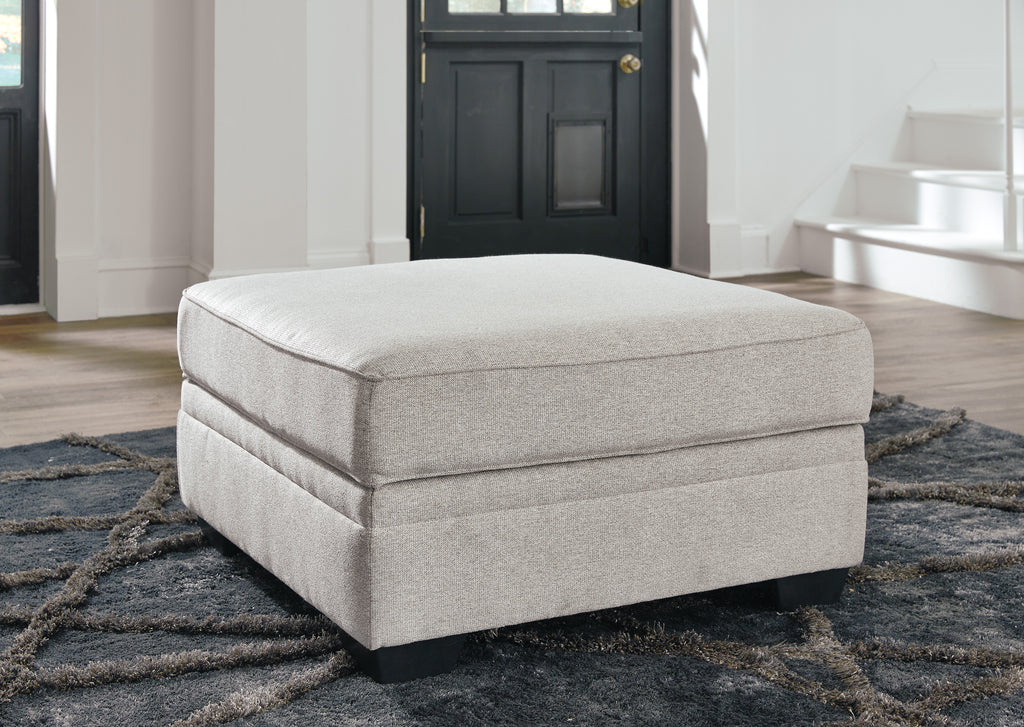 Dellara Ottoman With Storage Chalk Central Coast Furniture