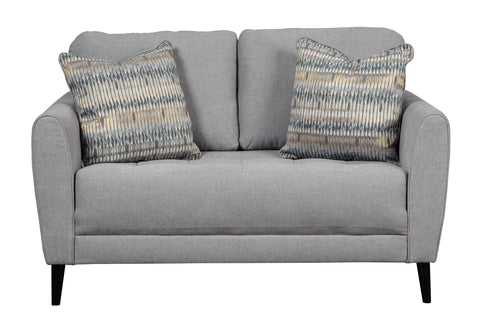 Cardello Loveseat - Pewter