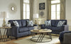 Burgos Loveseat - Navy