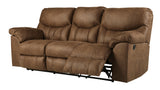 Boxberg Reclining Sofa - Bark
