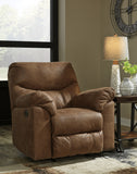 Boxberg Power Rocker Recliner - Bark