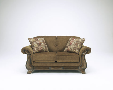Montgomery Traditional Loveseat - Mocha