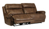 Austere 2 Seat Reclining Power Sofa - Brown