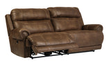 Austere 2 Seat Reclining Sofa - Brown