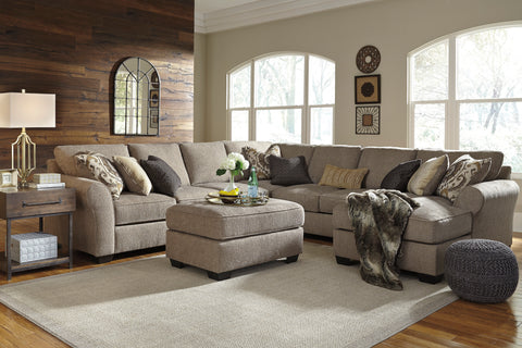 Pantomine Large Chaise Sectional - Driftwood