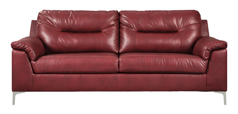 Tensas Sofa - Crimson