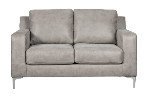 Ryler Loveseat - Steel