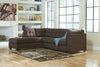 Maier Chaise Sectional - Walnut